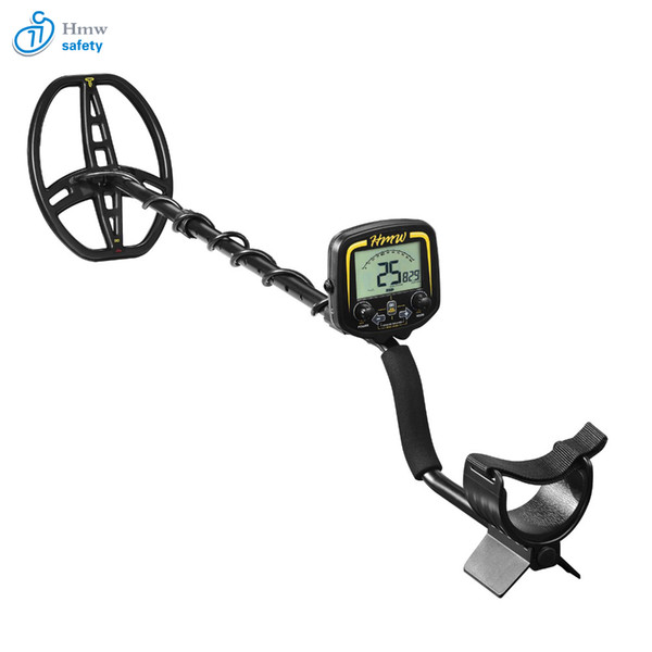 MD850 underground deep penetrating gold nugget hunter pinpointing metal detector 19 khz frequency adjustable position armrest for outdoor