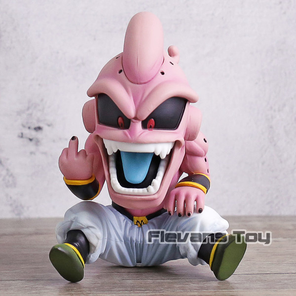 wholesale Ball Fighter Z Devil Majin Buu Kid Buu PVC Figure Collectible Model Toy DBZ Statue