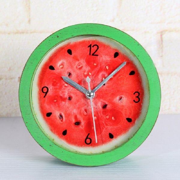 alarm automobile clocks despertador digital watch electronic desk home decor klok masa saatial fajr clock 4.8 inches green