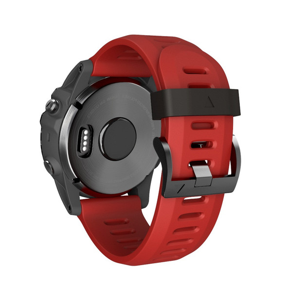 Soft Silicone Replacement Sport Wirst Watchband Strap For Garmin Fenix 3 HR Soft Silicone Replacement #SW7.20