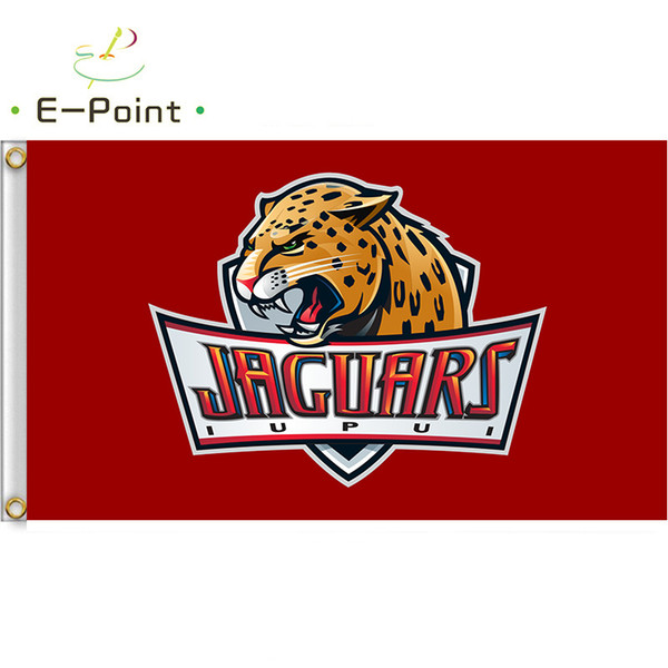 buy popular f1176 ea8dd 2019 Flag Of NCAA IUPUI Jaguars Polyester Flag 3ft*5ft 150cm*90cm Flag  Banner Decoration Flying Home & Garden Outdoor Gifts From Huyongkui, $6.04  | ...