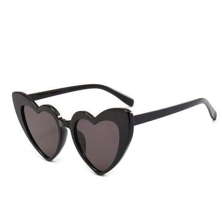 Heart Sunglasses Women brand designer Cat Eye Sun Glasses Retro Love Heart Shaped Glasses Ladies Shopping Sunglass UV400