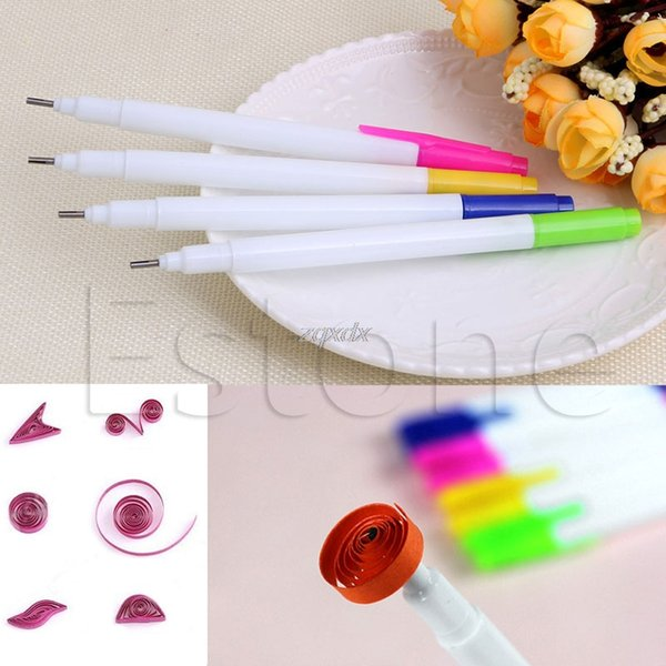 2019 Slotted Paper Quilling Tools Plastic Paper Roll Pen DIY Craft New Z11  Drop Ship From Hongheyu, $22 28   DHgate Com