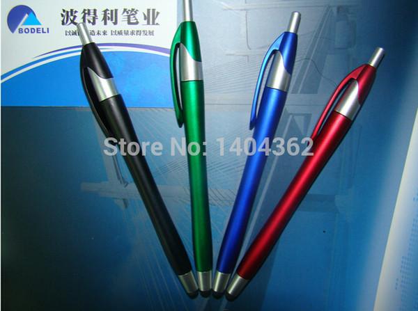 Custom Commercial Advertising Pen Promotional Gift ballpoint Pen oil customize logo