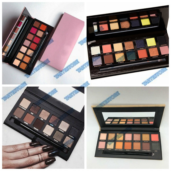 eyeshadow palette 4 edition modern master soft hills matte waterproof makeup eye shadow palette good quality ing