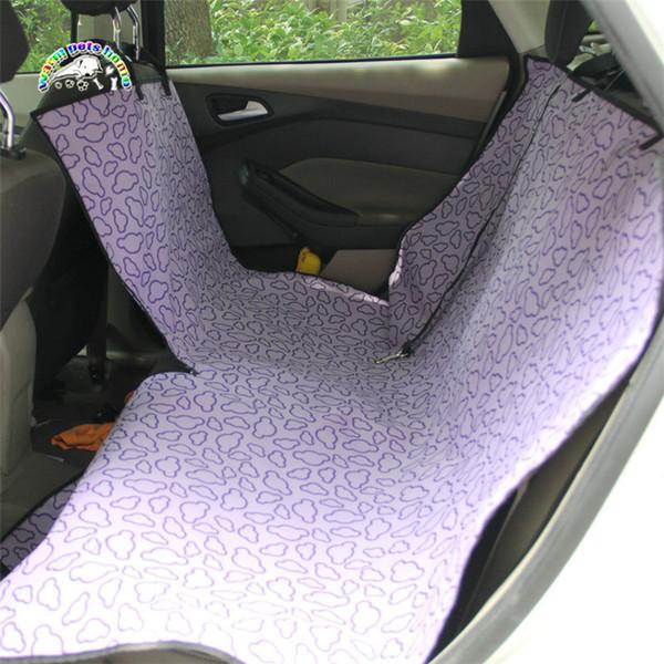 Бесплатная доставка 3 цвета двухместный-местный Оксфорд водонепроницаемый pet автокресло Pet автомобиль коврик собака подушка коврик собака кошка Pet автомобиля коврик чехол
