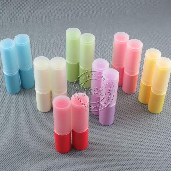 DHL frete grátis 500 pçs / lote, estilo clássico lábio bálsamo labial lip balm case diy batom recipiente vazio pacote