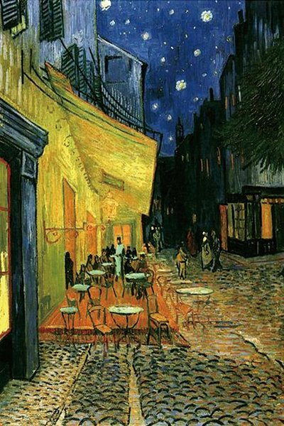 Van Gogh Cafe Night Album Poster Collector's Giclee Art Canvas HD Print Wall Animal Oil Painting Wall Art Painting Home Decor