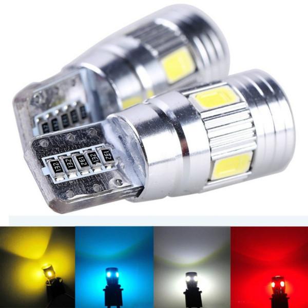 Super brillante ahorro de energía llevó ancho lámpara lámpara lente exterior t10 modificada conducción diurna pequeña lámpara alta potencia 12V bombilla de coche larga vida