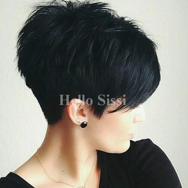 Fantastic Blend Natural Hair With Bangs Pixie Cut Short Wigs For Black Women Schematic Wiring Diagrams Phreekkolirunnerswayorg