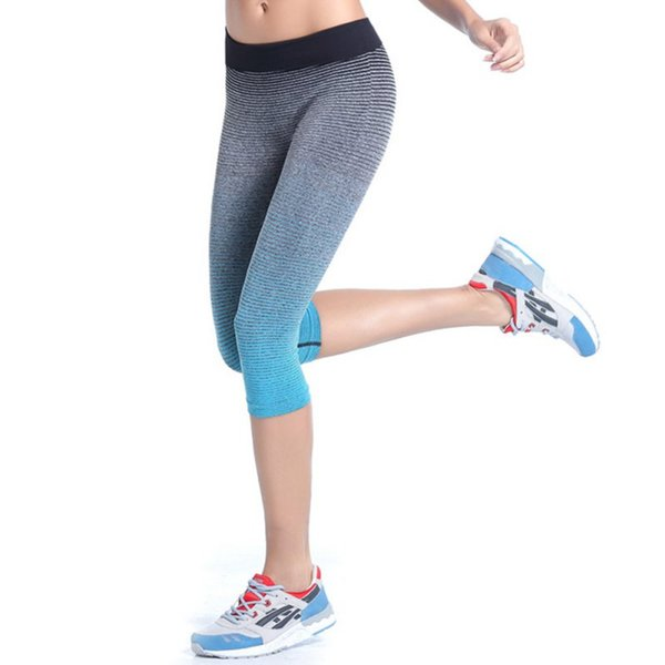 Pants Stretch Gym Cropped Leggings Athletic Trousers Screaming Retail Price Women's Fitness YOGA Sport