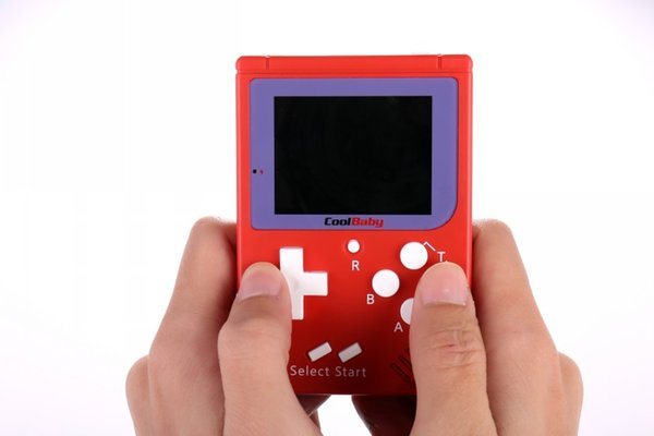 CoolBaby RS-6 Portable Retro Mini Handheld Game Console 8 bit Color LCD Game Player For FC Game free DHL