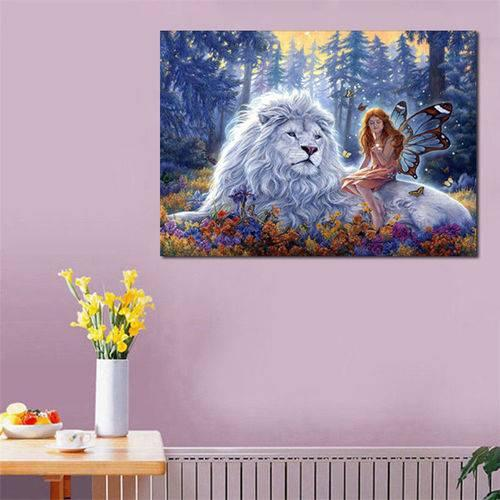 Hand Embroidery Kits DIY 5D Diamond Painting Embroidery Animals Flower Cross Craft Kits Home Decor UK