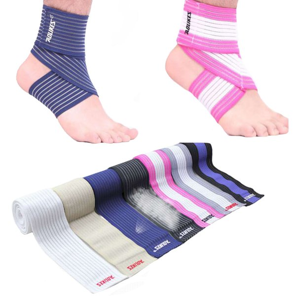 Sports Ankle Support Brace Elastic Bandage Sports Protector Ankle Strain Wraps Heel Protector For Badminton Basketball Football