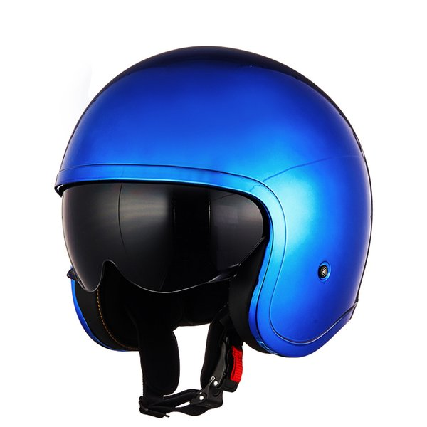 LS2 OF599 Motorcycle Open Face Retro Vintage 3/4 Half Helmet for Halley Style Motor Men & Women Summer ECE casco moto capacete