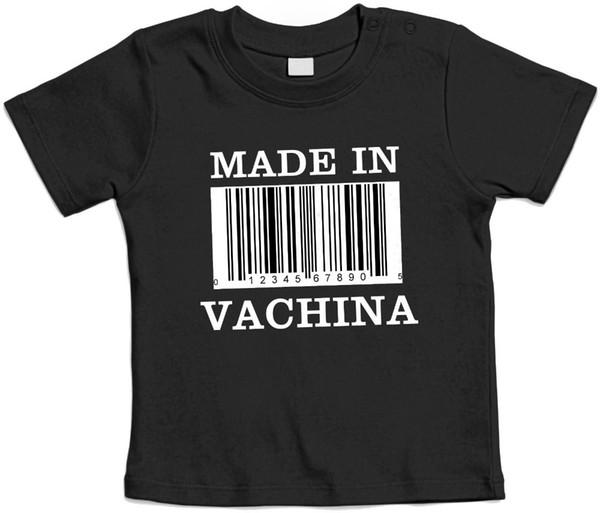 Newest 2018 MADE IN VANA - Mlietta Baby T shirt - Idea realo bambino Brand Clothing Hip-Hop Top