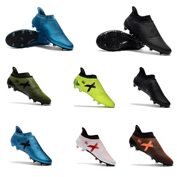 exclusive deals buy online new arrivals 2019 2018 Hot Sell Mens Turf Ace X17+ Purecontrol FG Authentic Outdoor  Soccer Shoes Comfortable Fashion Soccer Boots Cleats From Ccl2013, $51.12    ...