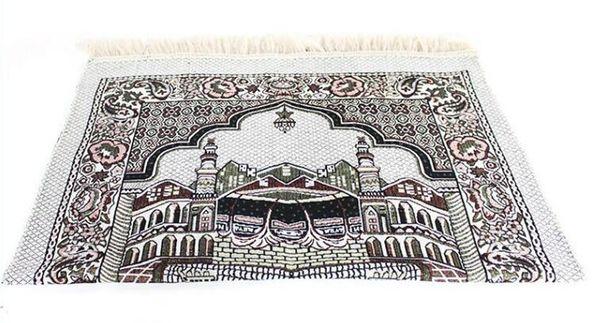 best selling 70*110cm Islamic Muslim Prayer Mats Carpets Salat Musallah Praying Rug Tapis Carpet