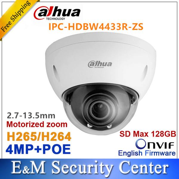 Orijinal Dahua IPC-HDBW4433R-ZS 4MP IPC IPC yerine-HDBW4431R-ZS IP 2.7mm ~ 13.5mm VF motorlu lens kamera POE SD kart solt