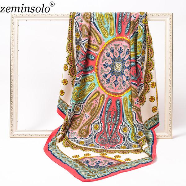 Heißer verkauf Schals 120 * 120 cm Baumwolle Schal Wrap Schal Winter Schal frauen Schals Platz Decke Cachecol Hohe Qualität