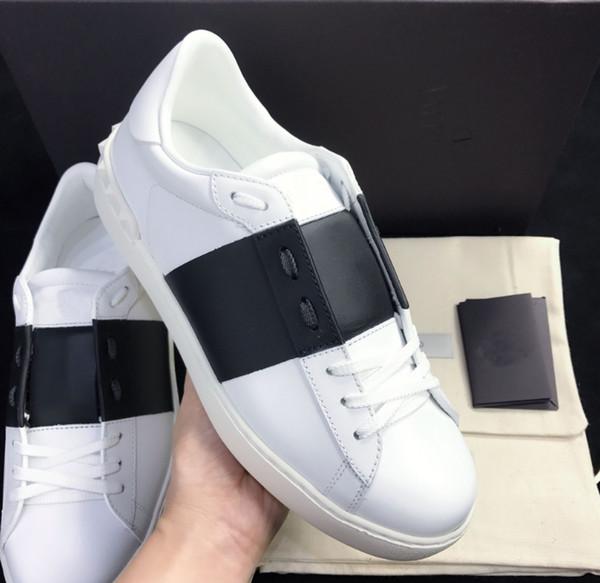 Kadın Erkek Lüks Dokuma Deri Patchwork Trendy Ayakkabı Perçinler Flats Ayakkabı Çivili Spor Kaykay Tenis Konfor Rahat Ayakkabılar