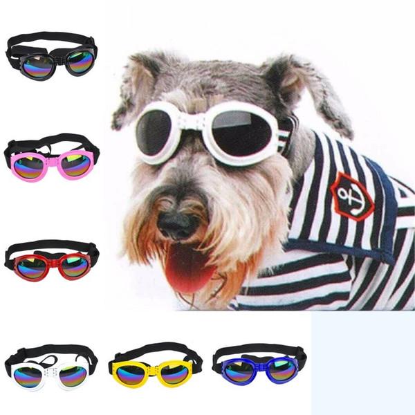Attrayant Pet Dog lunettes de soleil Multi-couleur à la mode Water-Proof Boom Pet Dog Lunettes de soleil Cool Puppy Sunglass Pet décoration