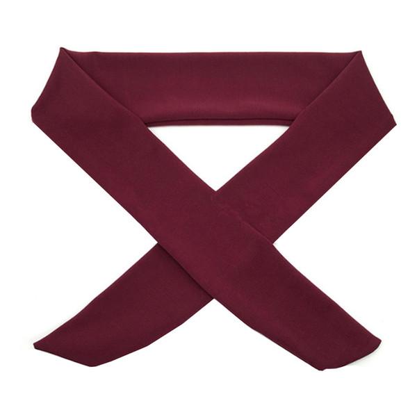 Оптовая новый галстук назад повязки Sweatband Moisure влагу тренировки Упражнение Спорт группа Бесплатная доставка