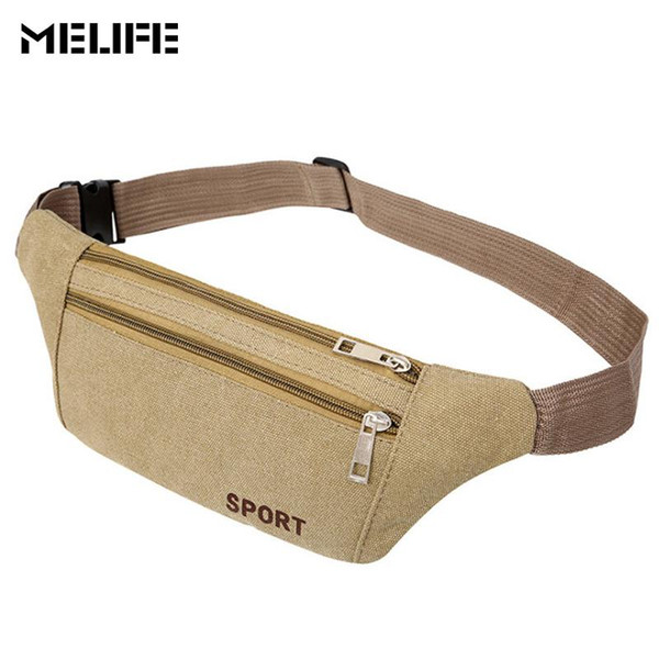 MELIFE Women Waist Pack Bum chest bag For Mobile phone Men's Casual Travel Belt Wallets Waterproof fashion crossbody small bags