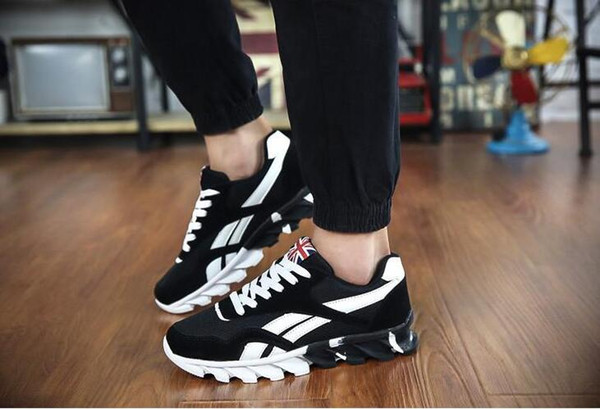 top popular 2018 new Spring autumn men Sneakers trainers sneakers shoes sport Running shoes breathable sneakers Home sport shoes 2020