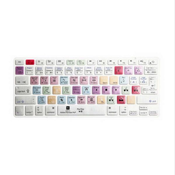 US EU UK Layout Keyboard Cover Shortcut Printed Cover Skin for MacBook Air Pro Retina 13