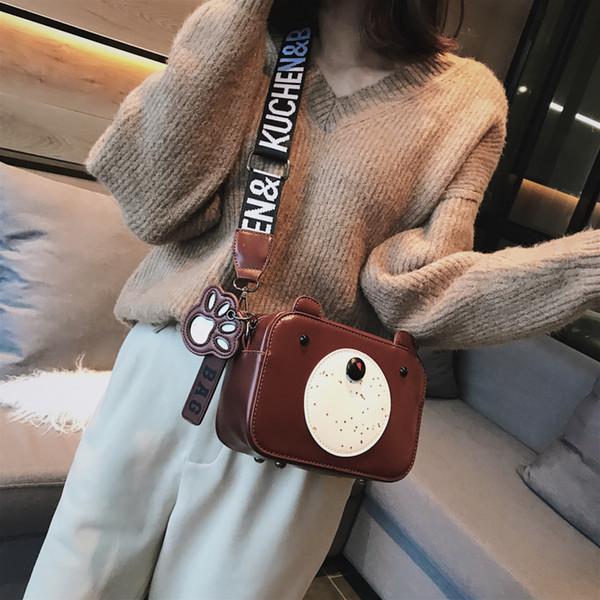 Multiple colors coat of paint The design of Hongkong Bucket bag One shoulder bag 065-8289