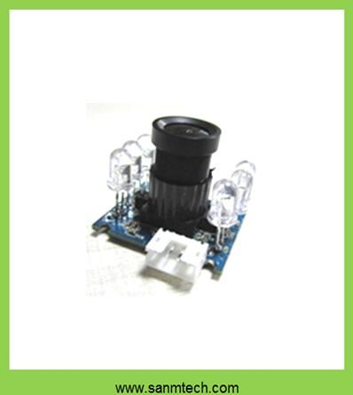 1M 720P infrared hd iris recognition camera module|850 narrow band effect, special for attendance machine