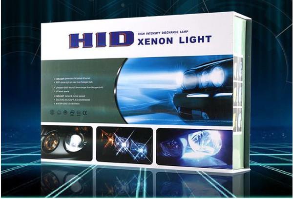 Super Brilhante 65 W 12 V ESCONDEU KIT de Conversão de Xenônio Faróis Livres Canbus H1 H3 H7 H4 H8 / H9 / H11 9005 9006 Iluminação Kits de Lastro Magro Kit de Lâmpadas