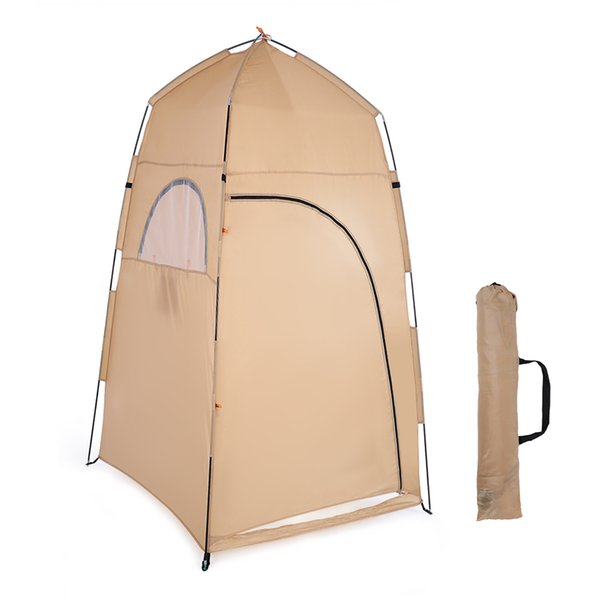 2019 TOMSHOO Changing Fitting Room Camping Tent Outdoor Portable Privacy  Toilet Tent Shower Shelter Beach Fishing Tent Cheap New Best Family Tents 6