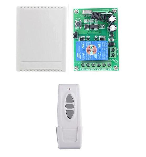 Дальний DC12V rf беспроводной пульт дистанционного управления переключатель приемопередатчик DC 12 В 10A 2ch реле переключатели с приемником для светодиодные лампы