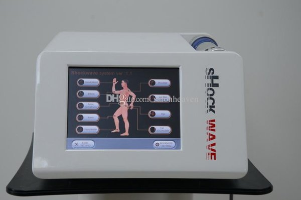 Radial Shock Wave Magnetic Therapy Shockwave Acoustic Wave Body Slimming Pain Relief ED Treatment Physiotherapy Equipment With Five Tips