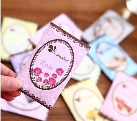 New Natural multi-functional air freshener sachet for homes car mini scent bag different fragrances bags Rose Lemon Violet Free shipping