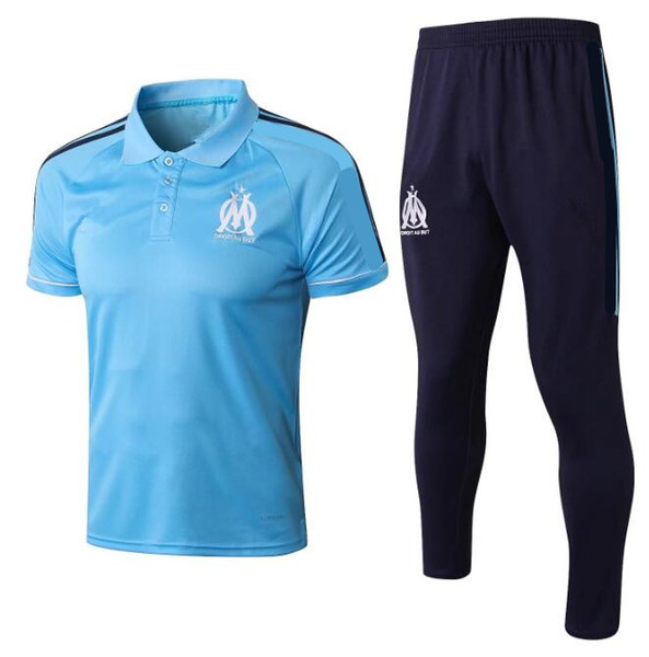 2019 2018 19 Olympique De Marseille Soccer Jersey 2018 SAKAI CLINTON  THAUVIN PAYET Football Shirts+Pants Away Blue Size S XL From Zhuhao2,  $23 03 |