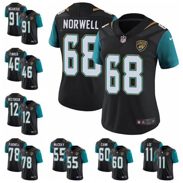 finest selection e60c9 37f2b 2018 New Jacksonville Jaguars Jersey Mens 20 Jalen Ramsey 27 Leonard  Fournette 5 Blake Bortles Jerseys Top Sales Stitched Football Jerseys 91  From ...