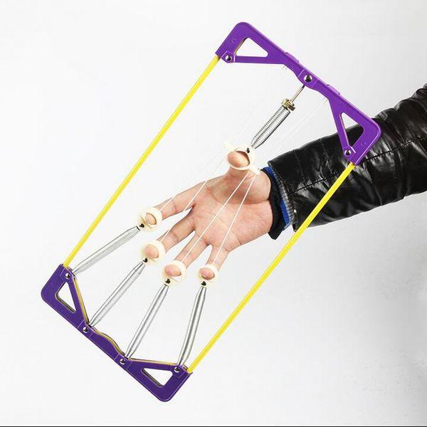 Finger Strength Trainer Strength Finger Hands Grip Fitness Guitar Piano Musculation Equipement&Finger Extend wrist training