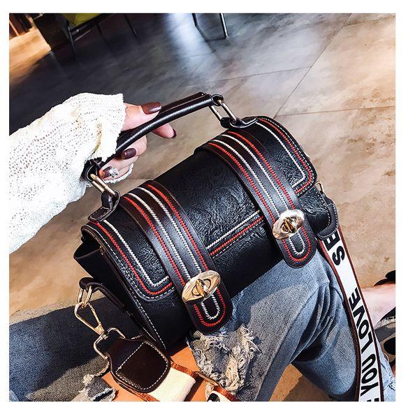 New Style Boston Bags PU Leather Top-Handle Shoulder Pillow Bags Fashion Totes Shoulder Cross body Female Bolsa Sacs Saj Shangshengyoudao/7