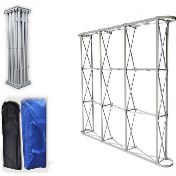 Aluminium-Blumenwand-faltender Stand-Rahmen für Hochzeitshintergründe gerade Fahnen-Ausstellungs-Ausstellungsstand-Handelswerbungs-Show