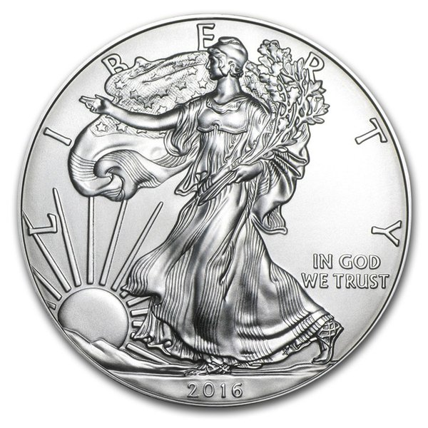 best selling The sample order,Free Shipping 2016 1 oz Silver American Eagle Coins + 2016 the statue of liberty sliver coin