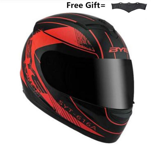 2018 nuevo llega el casco de la motocicleta de alta calidad full face off road racing casco casco moto e con pañuelo eliminado