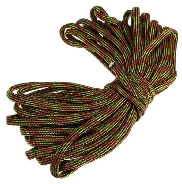 Fanuse 7 Rope Paracord Paracute Rope Resistant Camping Survie Couleur 8M Gris Longueur De Camo