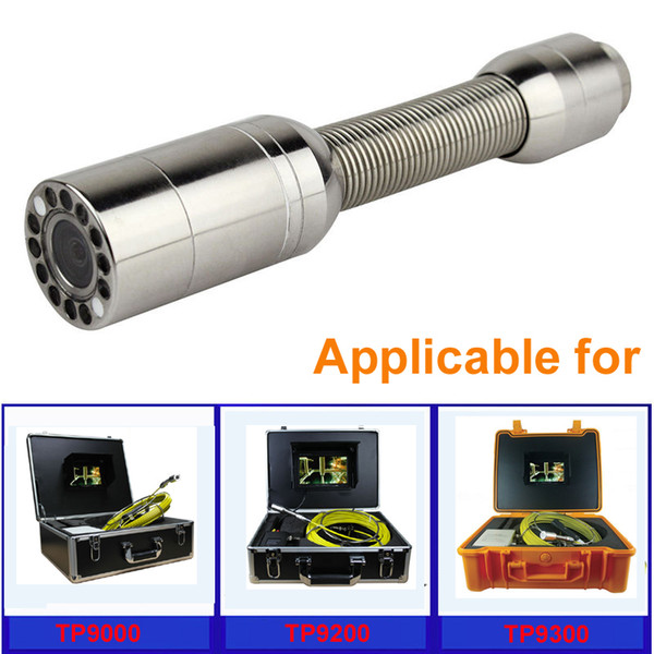 Kanalizasyon Boru Muayene Yılan Video Sistemi için 23 MM Kamera Kafası TP 9200 TP9000 TP9300