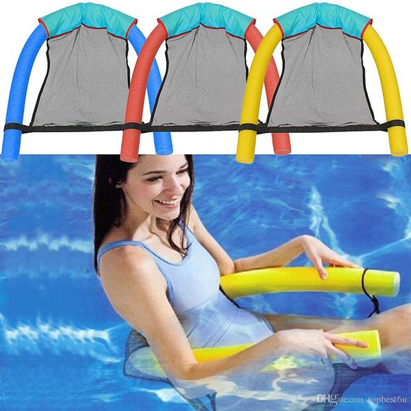 Amazing Noodle Chair Seat Lounger Water Swimming Pool Inflatable Float Floating Funny To Relax On Pool New And Hot SS02