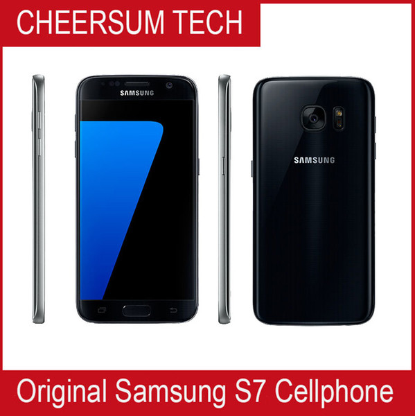 best selling Original Samsung Galaxy S7 G930A G930T G930P G930V G930F Unlocked Phone Octa Core 4GB 32GB 5.1Inch 12MP Refurbished samsung mobile phone