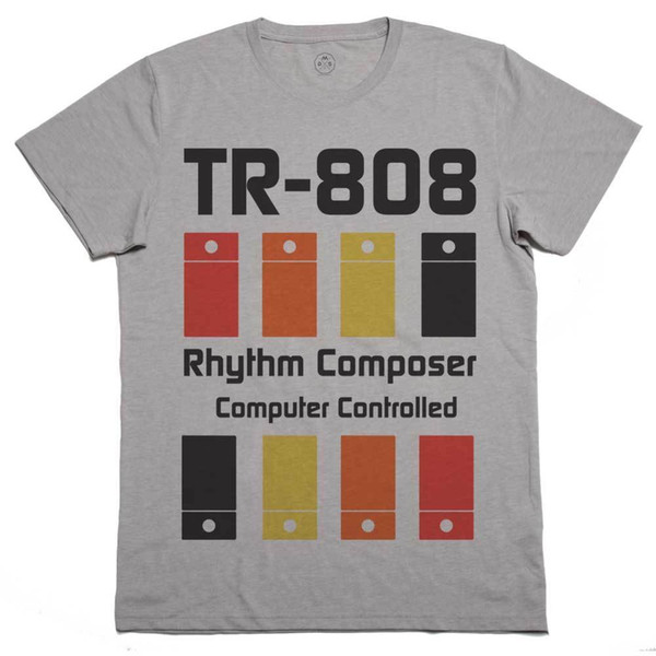 T Shirt TR 808, T Shirt Drum Machine, Dj, Music House Techno Electronics G  Mens Tee Shirts Rude T Shirts From Friendstshirts, $11 01| DHgate Com
