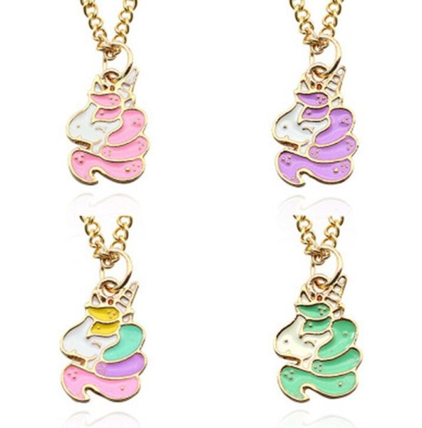 Apparel Sewing & Fabric Ibows 5pcs Diy Chunky Enamel Jewelry Findings Mixed Color Unicorn Mermaid Charms For Handmade Necklace Girls Kids Accessories